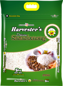 Harvester's Rice Delicious Sinandomeng | 5kg