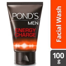 POND_S MEN FACIAL WASH ENERGY CHARGE 100G