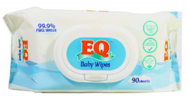 EQ Baby Wipes Pure Water | 90sheets
