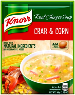 KNORR CRAB AND CORN SOUP AND MUSHROOM SOUP BUNDLE