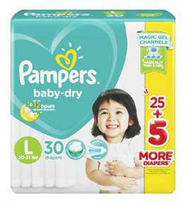 Pampers Dry Baby Pants Big Pack L | 30pcs